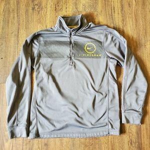 Nike Gray Livestrong Lightweight Track Jacket
